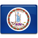 flag, virginia icon