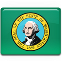 flag, washington icon