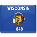 wisconsin, flag
