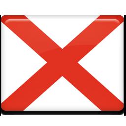 Alabama, flag icon - Free download on Iconfinder