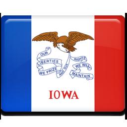 flag, iowa icon