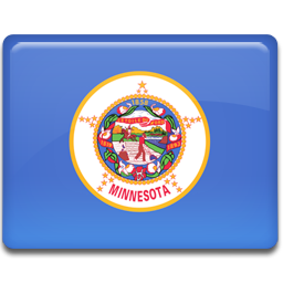 flag, minnesota icon