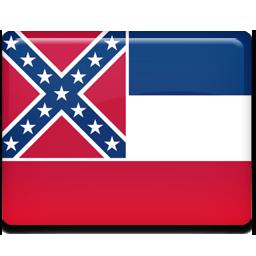 Mississippi, flag icon