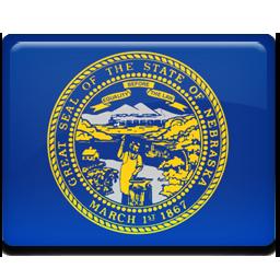 flag, nebraska icon