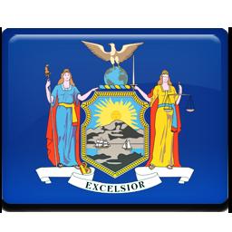 flag, new, york icon