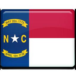 North, carolina, flag icon - Free download on Iconfinder