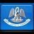 flag, louisiana icon
