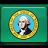 flag, washington icon