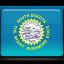 dakota, flag, south icon