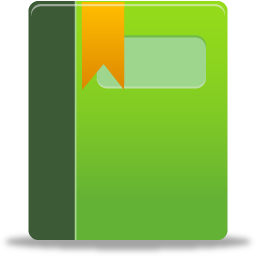 album, book, bookmark, green icon