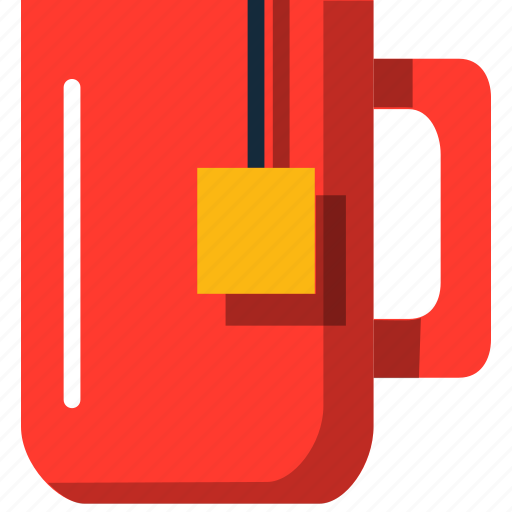 group illustration mug cute cup hot tea icon iconfinder