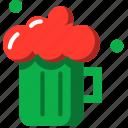 beer, bottle, cup, cute, drink, group, mug icon
