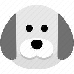 animal, avatar, dog, protection, security icon