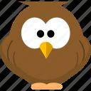 animal, avatar, bird, education, knowledge, learning icon