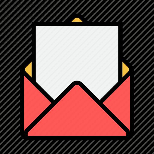 blank, envelope, letter, mail, message, news, newsletter icon
