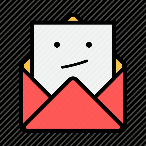 boring, envelope, letter, mail, message, news, newsletter icon
