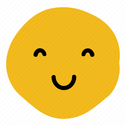 content, doodle, emoticon, expression, happiness, happy, smile icon