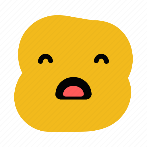 doodle, emoticon, expression, night, sleeping, sleepy, yawn icon