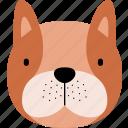 dog, animal, face, wild, cute, funny, cartoon
