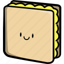beef, bread, cheese, fast food, food, meet, sandwich icon