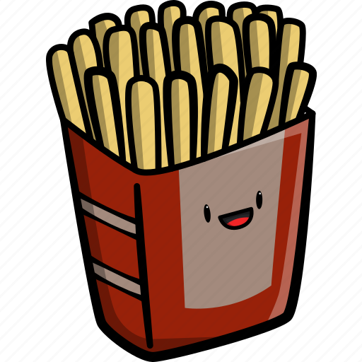 cooking, fast food, french, french fries, fries, sauce, tomato icon