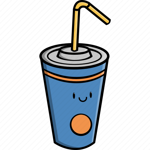 beverage, cold, cup, drink, food, juice, soda icon