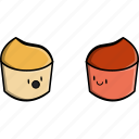 cooking, french, fries, mustard, sauce, tomato icon