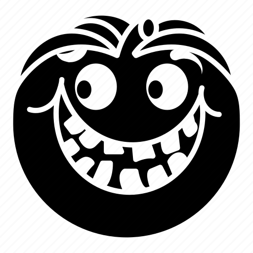Cartoon, emoji, halloween, happy, pumpkin, smile icon - Download on Iconfinder