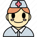 nurse, doctor, man, avatar, medical