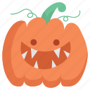 cute, halloween, pumpkin icon