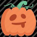 cute, halloween, pumpkin