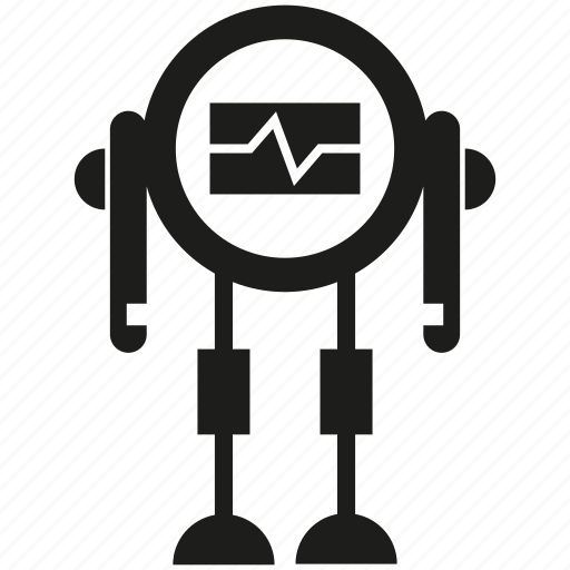 android, artificial intelligence, cyborg, humanoid, mascot, robot, robotic icon