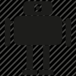 android, auto, cyborg, humanoid, mascot, robot, robotic icon