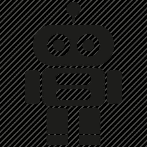 android, cute, cyborg, humanoid, mascot, robot, robotic icon