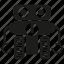 android, cyborg, humanoid, mascot, program, robot, robotic