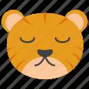 animal cartoon, animal face, cute tiger, tiger cartoon, tiger emoji, tiger emoticon, tiger face icon