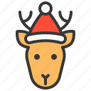 animal, avatar, christmas, deer, reindeer, xmas