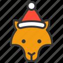 animal, avatar, christmas, fox, wild, xmas