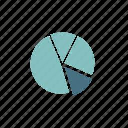 analytics, chart, diagram, graph, pie, pie chart, report icon