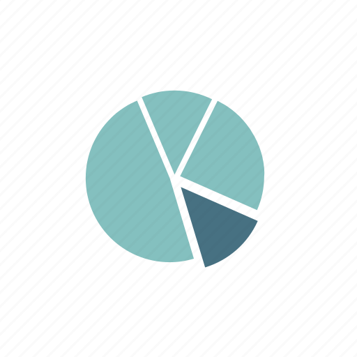 analytics, chart, diagram, graph, pie, pie chart, report icon