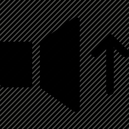 Sound, speaker, up, volume icon - Download on Iconfinder