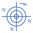 crime, cyber, security, target icon