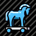 horse, trojan icon