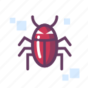 malware, virus icon