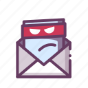 email, malware, virus icon