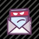 virus, malware, email icon