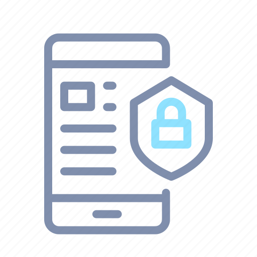 cyber, device, password, protection, secure, security, shield icon