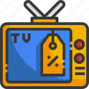 television, price, tag, sale, entertainment, electronic