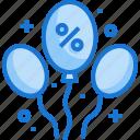 balloon, sale, maketing, discount, offer, percentage