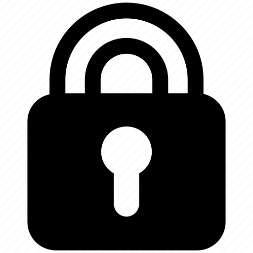 lock, padlock, password, protected, safe, security icon